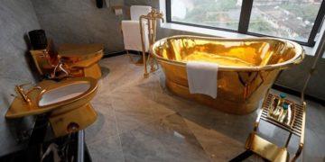 hotel enchapado en oro en Vietnam