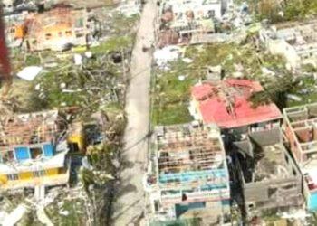 Isla de Providencia tras el paso del huracán Iota