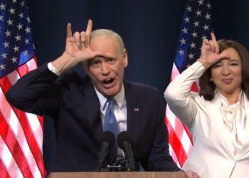 Jim Carrey hizo parodia de Joe Biden