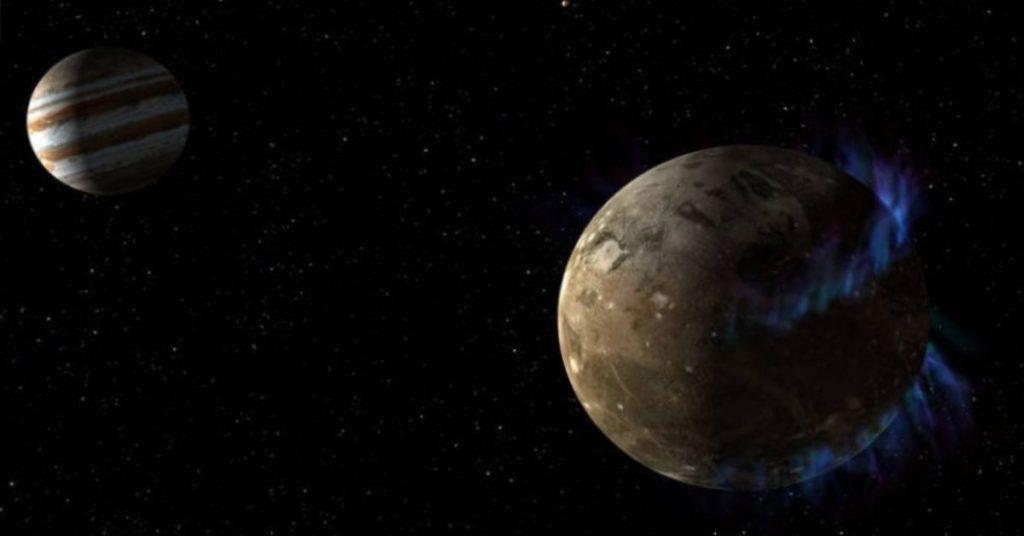 La radiación de Júpiter estaría haciendo brillar a la luna Europa