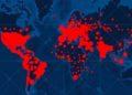países en la pandemia del coronavirus COVID-19