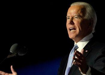 el presidente de Estados Unidos Joe Biden