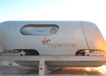 tren futurista Virgin Hyperloop