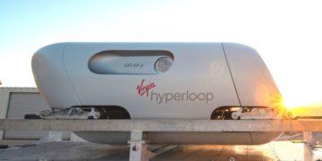 tren futurista Virgin Hyperloop
