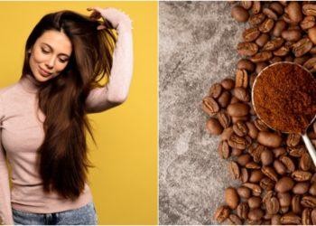 Mascarilla de café para el pelo