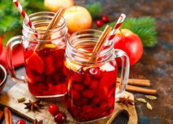 Receta de ponche de frutas