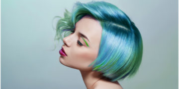 Blueberry hair / pelo oscuro