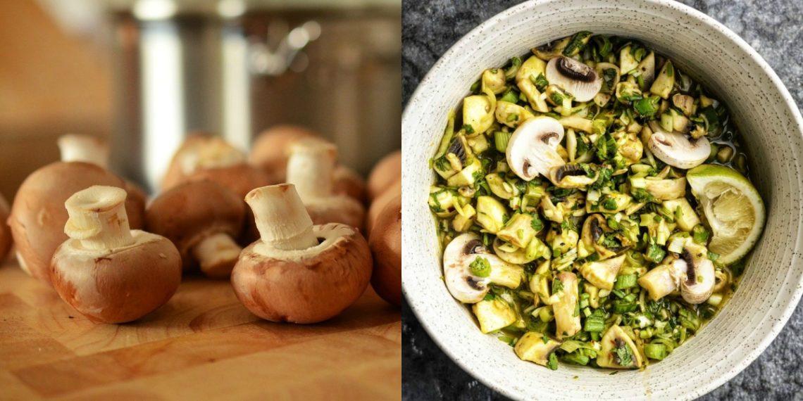Cómo hacer la receta de ceviche de champiñones