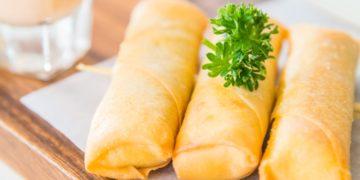 Receta china fácil: cómo hacer la masa de empanadas de carne molida fritas o al horno (arrolladitos primavera)
