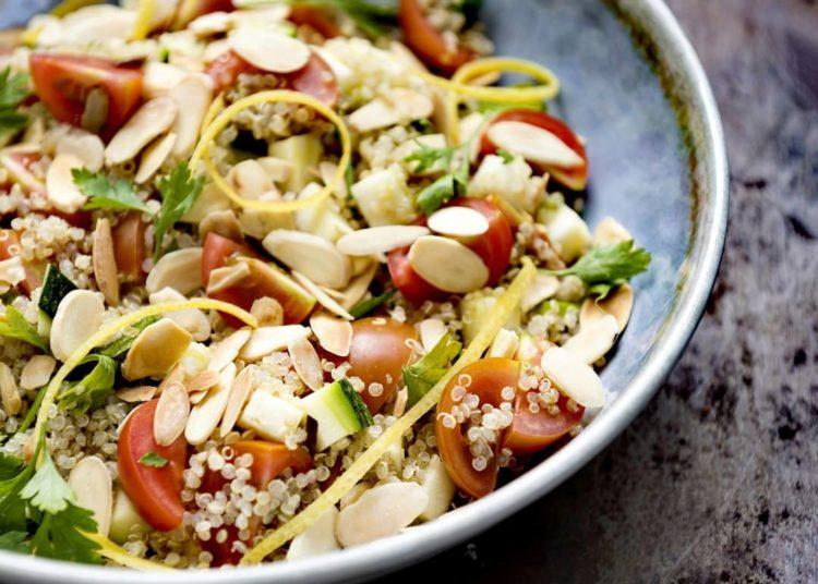 Recetas de ensaladas saladas, frescas, fáciles y económicas para embarazadas