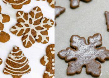 Receta de galletas de jengibre y canela fáciles, sanas y deliciosas