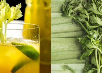 Beneficios del jugo de apio en ayunas con manzana verde, piña y zanahoria