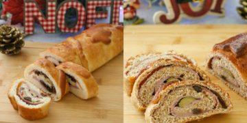 Receta de pan de jamón para Navidad