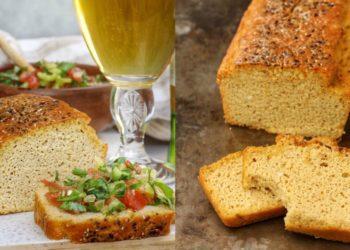 Pan keto sin harina refinada celíacos: prepáralo con harina de coco