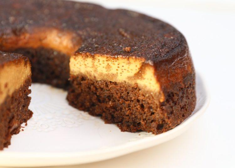 Torta flan (chocoflan)