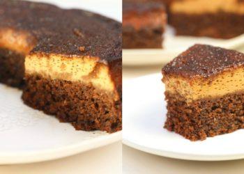 Receta de pastel imposible (torta flan o chocoflan)
