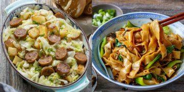 Recetas fáciles de hacer de la comida asiática perfectas para almorzar y cenar