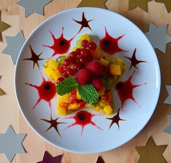 Estrella de frutas