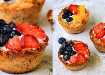 Anímate a hacer la receta de tarta de frutas