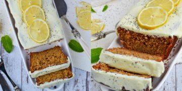 Receta de bizcocho o torta sencilla de limón
