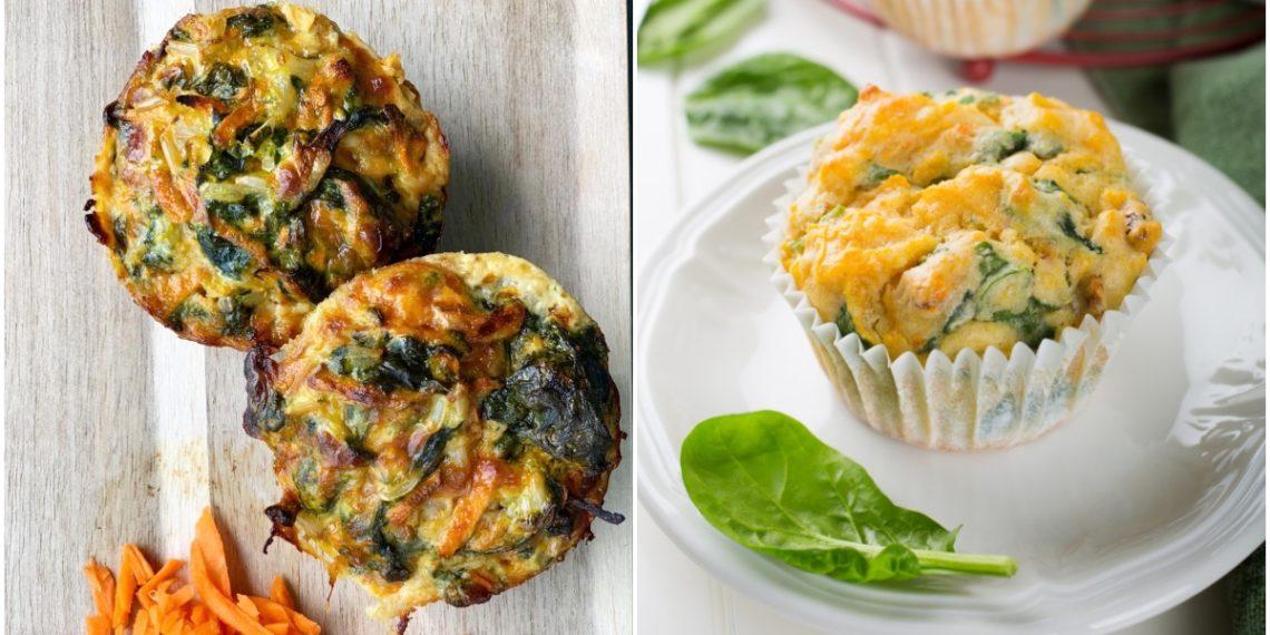 Recetas de muffins salados