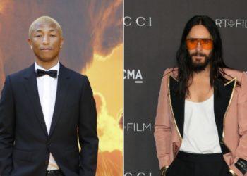 Pharrell Williams y Jared Leto se niegan a envejecer