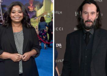 Octavia Spencer y Keanu Reeves