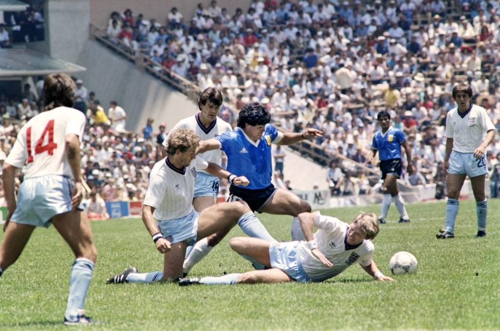 Maradona contra Inglaterra