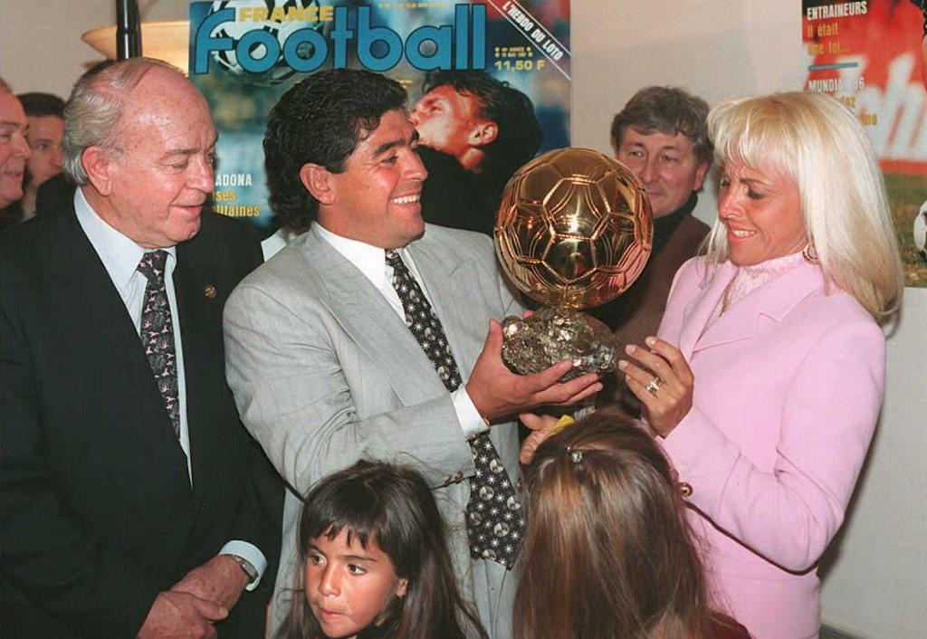 Claudia Villafañe la única esposa de Maradona