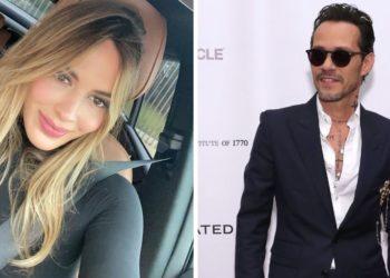 Shannon de Lima y Marc Anthony. Foto: Instagram/ shadelima - AFP
