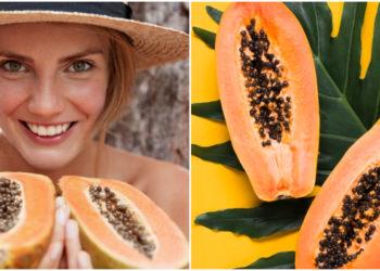Mascarilla con papaya y miel. Foto: Freepik