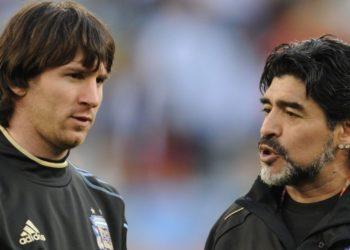 «Toda la fuerza del mundo»: el mensaje de Leo Messi a Maradona