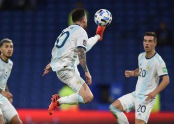 El control de pelota de Messi con Argentina que se volvió viral en redes