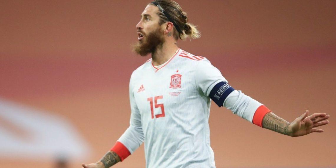 Récord de Sergio Ramos: el europeo de más partidos de selecciones