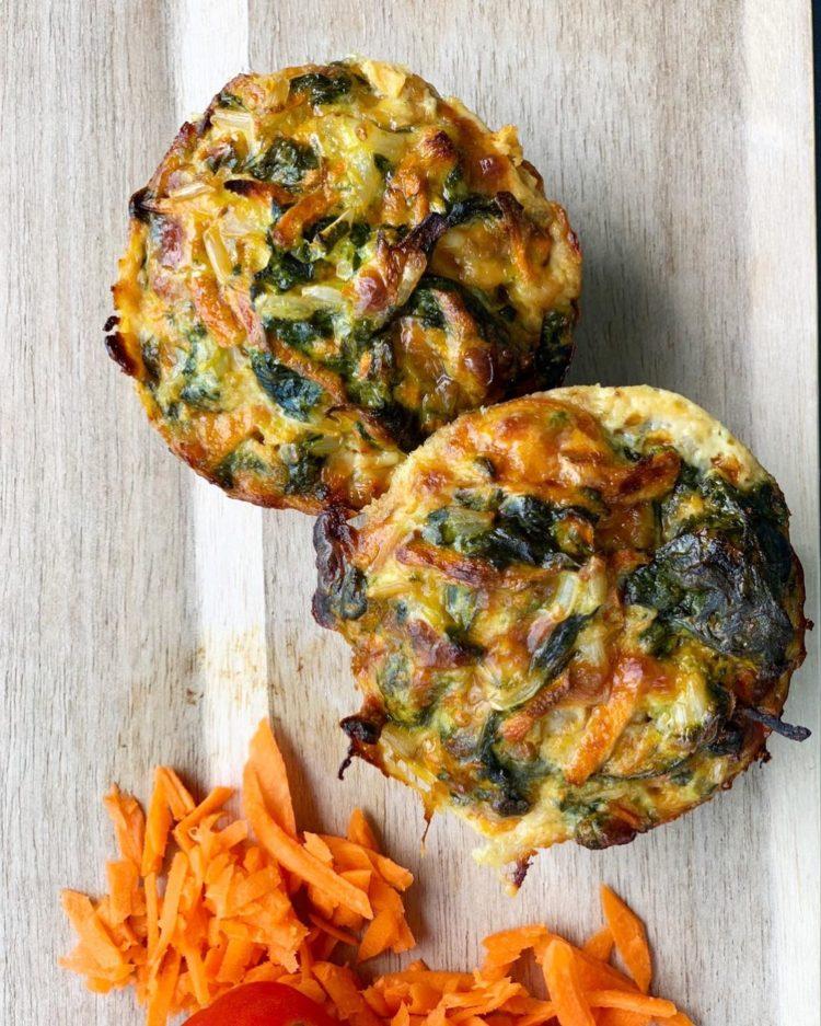 muffins salados veganos