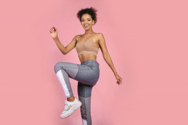 rodillas altas ejercicio