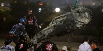Romain Grosjean se toma con humor su accidente y quemaduras