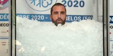 Hombre hielo