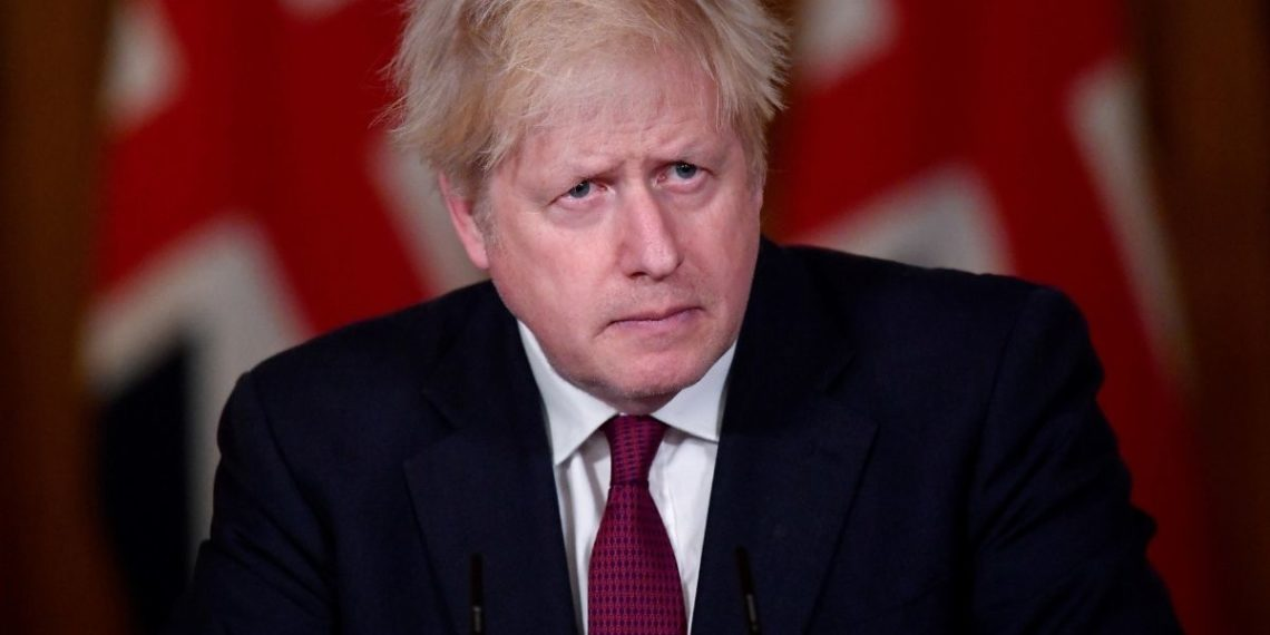 Boris Johnson Inglaterra