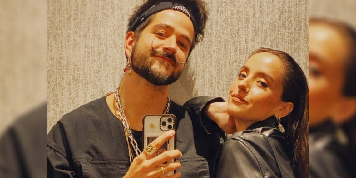 Camilo y su esposa Evaluna. Foto: Instagram/ camilo