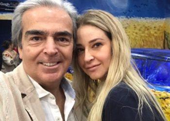 Lorenzo Lazo y Lourdes Peláez. Foto: Instagram/ lazomargain