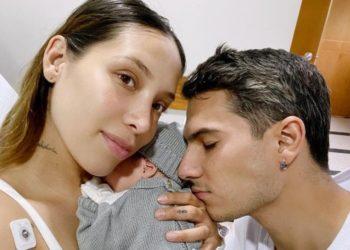 Así fue el bautizo del hijo de Luisa Fernanda W