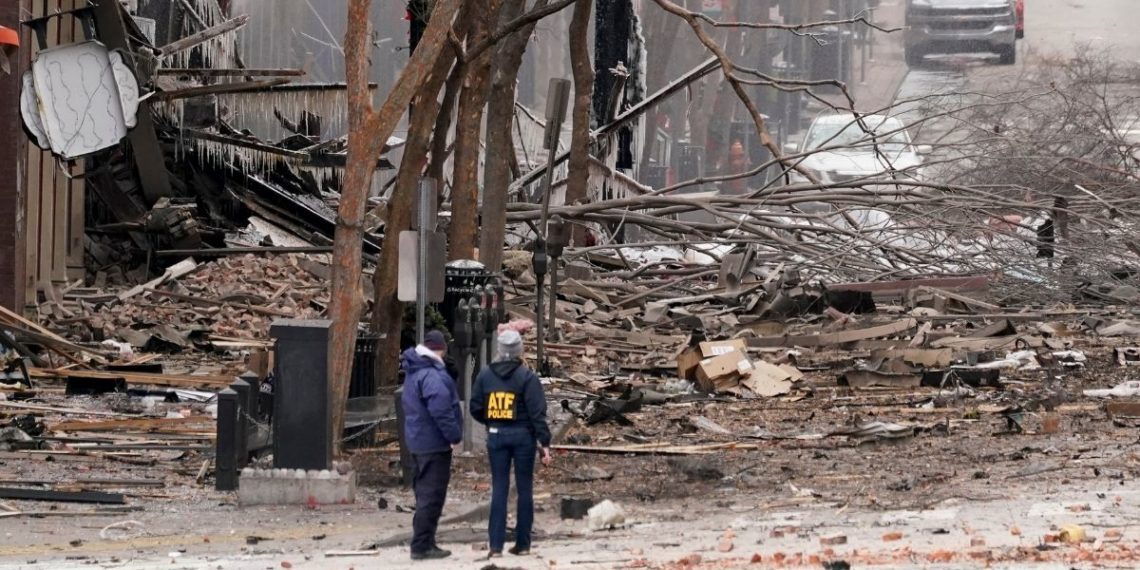 Explosión en Nashville