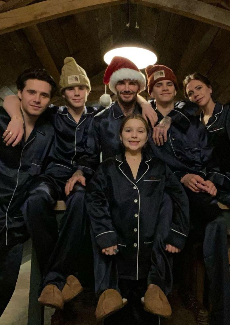 Así celebraron los famosos la Navidad