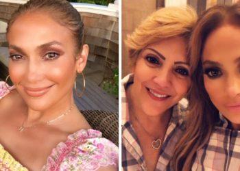 Jennifer Lopez sorprendió a su mamá con una emotiva fiesta de cumpleaños