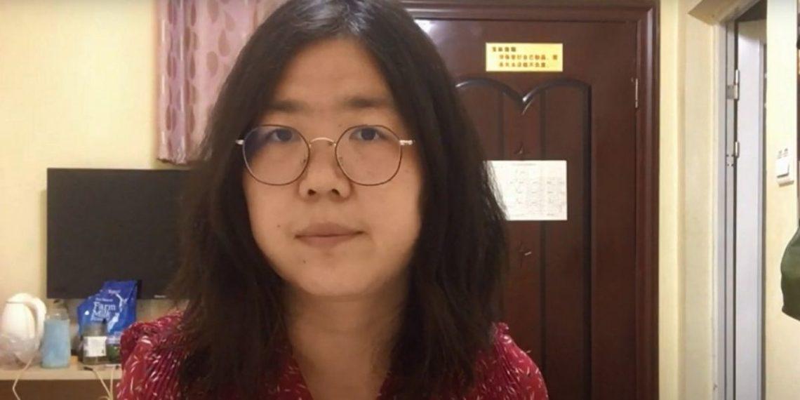 condenan a periodista por informar sobre el COVID-19 en China
