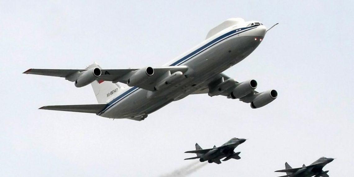 avión utilizado en una guerra nuclear por Rusia