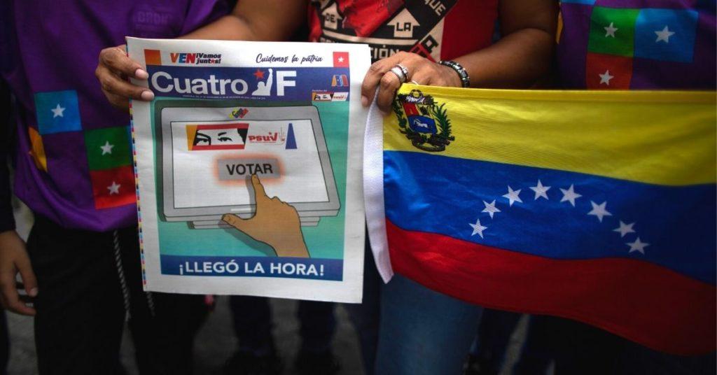 Elecciones asamblea nacional de Venezuela