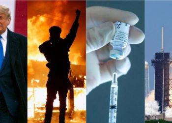 los hechos que marcaron el año 2020 con la pandemia