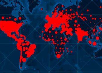 contagios y muertos por el COVID-19 en el mundo